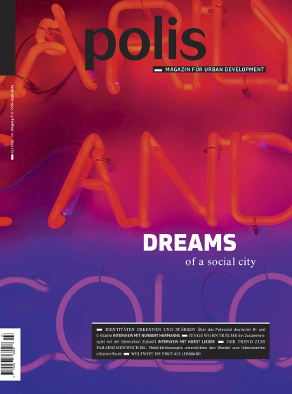 Cover polis Magazin 2015/03: DREAMS of a social city