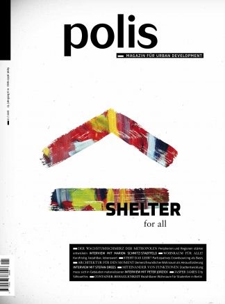 Cover polis Magazin 2016/01: SHELTER for all