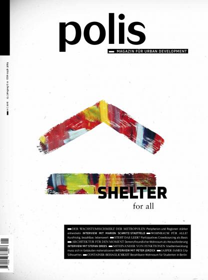 Cover polis Magazin 2016/01: SHELTER for all