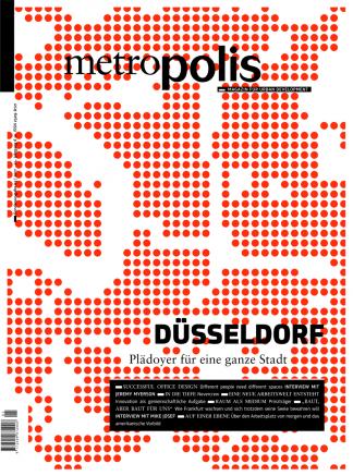 Cover metro.polis Magazin 2017/03: DÜSSELDORF