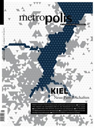Cover metro.polis Magazin 2018/01: KIEL