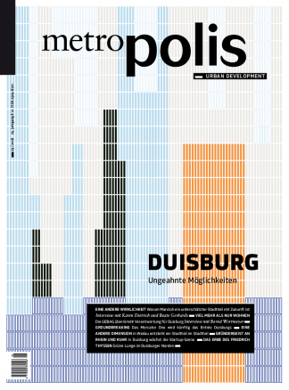 Cover metro.polis magazin 2018/03: DUISBURG