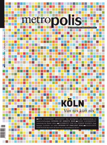 Cover metro.polis Magazin 2016/01: KÖLN