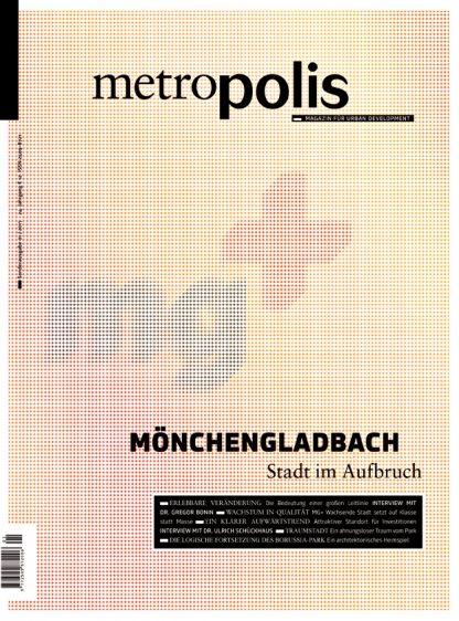 Cover metro.polis Magazin 2017/01: MÖNCHENGLADBACH