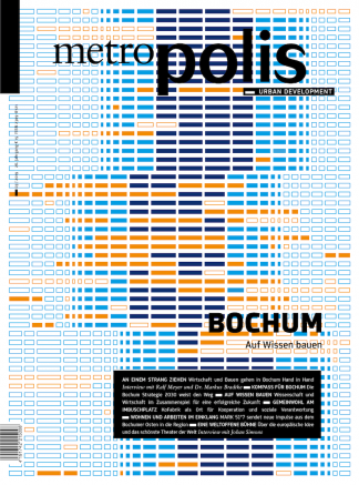 Cover metro.polis Magazin 2019/03: BOCHUM