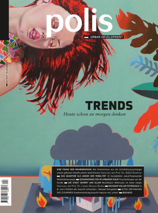 Cover polis Magazin 2018/04: TRENDS