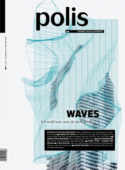 Cover polis Magazin 2019/04: WAVES