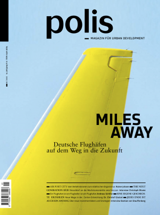 Cover polis Magazin 2012/01: MILES AWAY