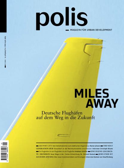 Cover polis Magazin 2012/01: MILES AWAY