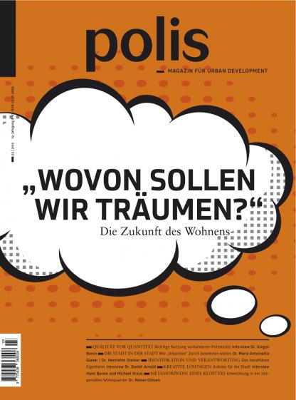 Cover polis Magazin 2012/03: WOVON SOLLEN WIR TRÄUMEN?