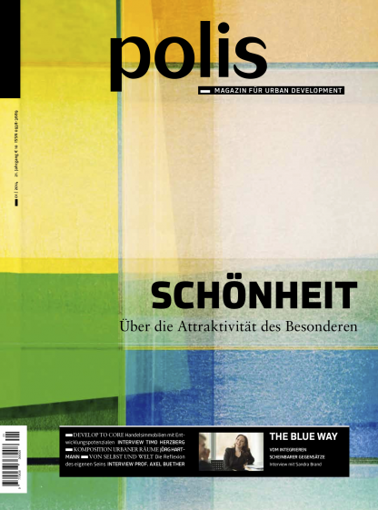 Cover polis Magazin 2014/01: SCHÖNHEIT