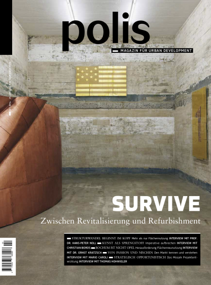 Cover polis Magazin 2014/02: SURVIVE