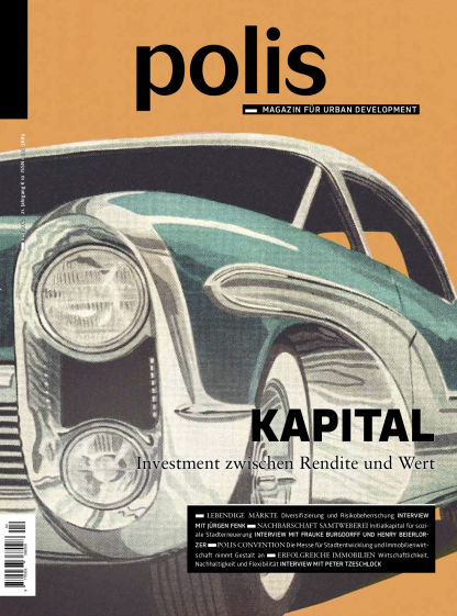 Cover polis Magazin 2014/04: KAPITAL