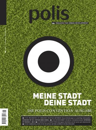 Cover polis Magazin 2015/01: MEINE STADT, DEINE STADT