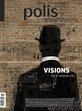 Cover polis Magazin 2015/02: VISIONS for a smarter city