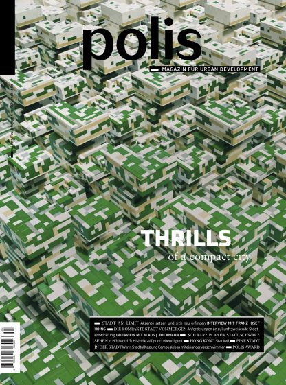 Cover polis Magazin 2015/04: THRILLS of a compact city