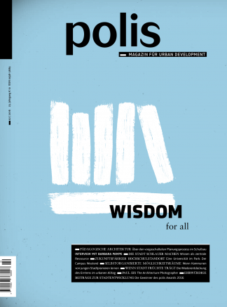 Cover polis Magazin 2016/02: WISDOM for all