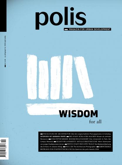 Cover polis Magazin 2016/02: WISDOM for all