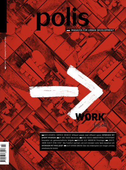 Cover polis Magazin 2016/03: WORK for all