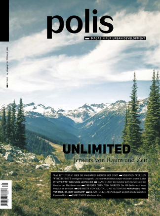 Cover polis Magazin 2017/01: UNLIMITED