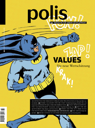 Cover polis Magazin 2017/03: VALUES
