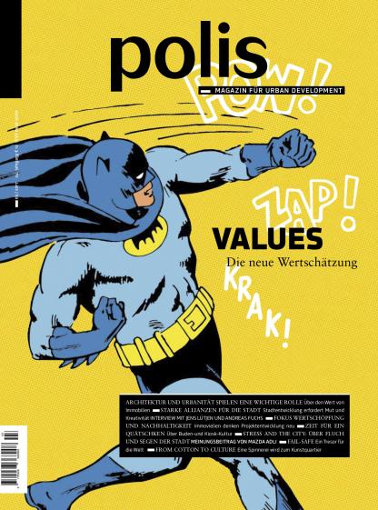 Cover polis Magazin 2017/03: VALUES