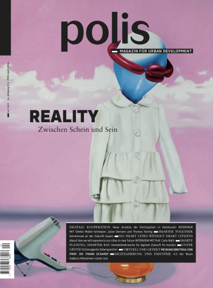 Cover polis Magazin 2017/04: REALITY