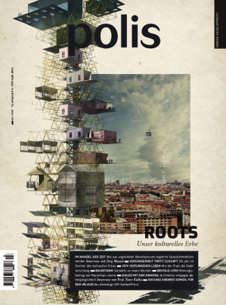 Cover polis Magazin 2018/03: ROOTS