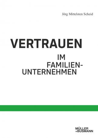 """Cover """"Vertrauen im Familienunternehmen"""""""